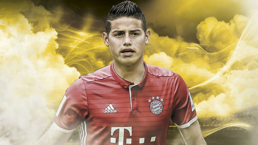 James en el Bayern Múnich